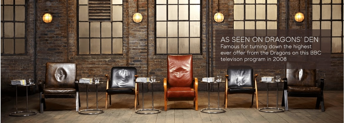 as seen on dragons den - the dragons den chairs