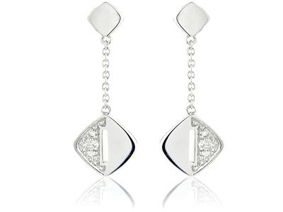 diamond drop earrings jewellery trends