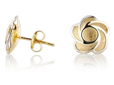 retro design jewellery trends flower earrings