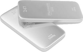 platinum-bullion