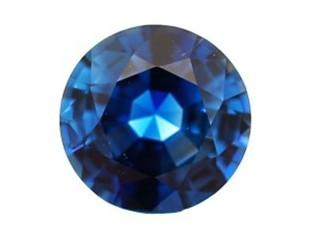Blue Sapphire 1.30cts. 6.53 x 6.6mm.-01-LS47-2852
