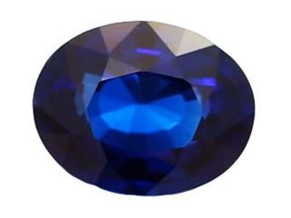 Blue Sapphire 1.43cts. 7.5 x 5.91mm.-03-LS47-1581