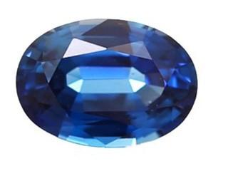 Blue Sapphire 1.01cts. 7.06 x 5.01mm.-03-LS47-3733