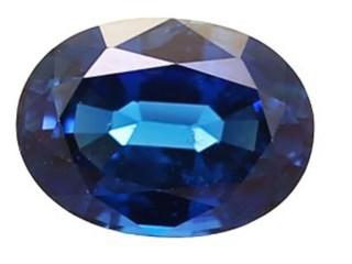 Blue Sapphire 1.13cts. 7.11 x 5.2mm.-03-LS47-8843