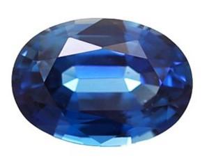 Blue Sapphire 1.01cts. 7.06x5.01mm.-03-LS47-9000