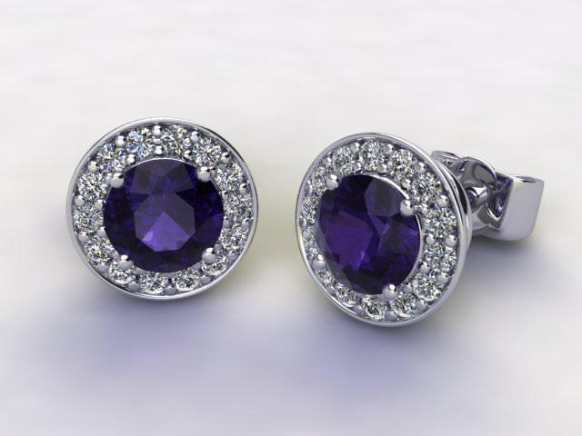 Iolite and Diamond