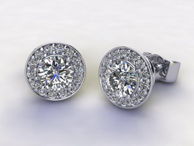 0.95cts. All Diamond