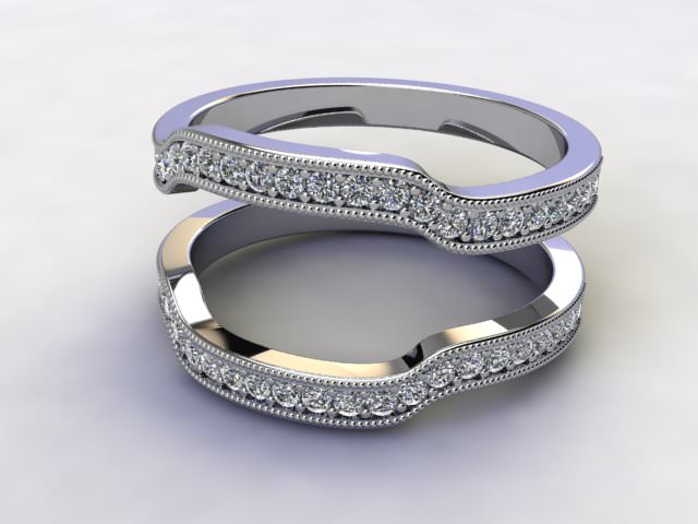 Diamonds 0.52cts. in 18ct White Gold