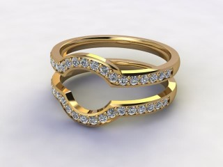 Diamonds 0.38cts. in 18ct Yellow Gold-77-181409