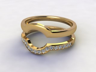 Diamonds 0.19cts. in 18ct Yellow Gold-77-181410
