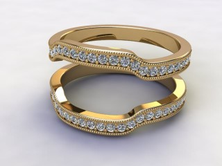 Diamonds 0.52cts. in 18ct Yellow Gold-77-181411
