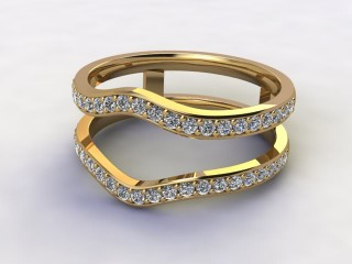 Diamonds 0.48cts. in 18ct Yellow Gold-77-181425