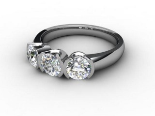 Trilogy Platinum Round Brilliant-Cut Diamond-01-0133-1014