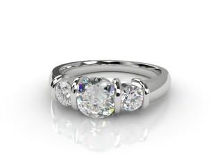 Trilogy Platinum Round Brilliant-Cut Diamond-01-0133-1015