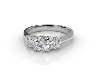 Trilogy Platinum Round Brilliant-Cut Diamond-01-0133-2308