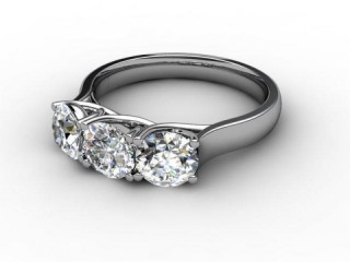 Trilogy Platinum Round Brilliant-Cut Diamond-01-0133-2309