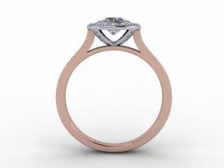 Certificated Round Diamond in 18ct. Rose Gold - 6