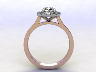 Certificated Round Diamond in 18ct. Rose Gold - 3