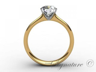 Certificated Diamond, 18ct. Yellow Gold - 3