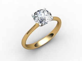 Certificated Diamond, 18ct. Yellow Gold - 12