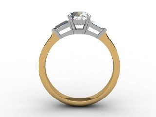 Certificated Round Diamond in 18ct. Gold - 6