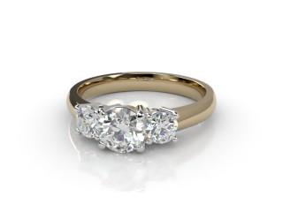 Trilogy 18ct. Yellow Gold Round Brilliant-Cut Diamond-01-2833-2308