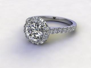 Certificated Round Diamond in Palladium-01-6600-8944