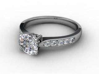 Certificated Round Diamond in Palladium-01-6610-5177