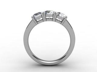 Trilogy Palladium Round Brilliant-Cut Diamond - 6