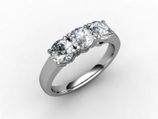 Trilogy Palladium Round Brilliant-Cut Diamond - 15