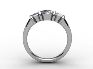 Trilogy Palladium Round Brilliant-Cut Diamond - 6