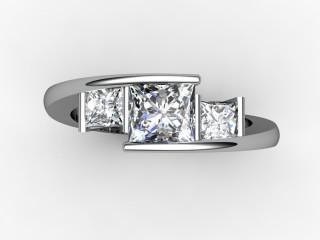 Trilogy Platinum Princess Diamond - 12