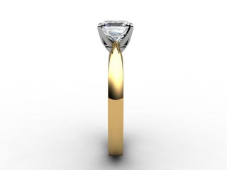 Certificated Princess-Cut Diamond Solitaire Engagement Ring in 18ct. Gold - 6