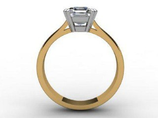 Certificated Princess-Cut Diamond Solitaire Engagement Ring in 18ct. Gold - 3