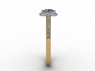 Certificated Princess-Cut Diamond in 18ct. Gold - 6