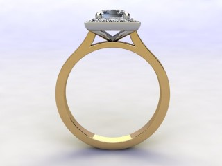 Certificated Princess-Cut Diamond in 18ct. Gold - 3