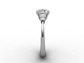Certificated Oval Diamond in Platinum - 6
