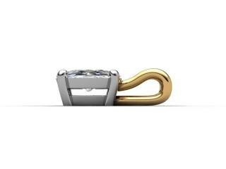 Certified Oval Diamond Pendant - 6