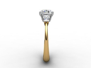 Certificated Oval Diamond in 18ct. Gold - 6