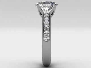 Certificated Oval Diamond in Palladium - 6
