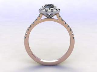 Certificated Emerald-Cut Diamond in 18ct. Rose Gold - 3