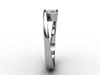 Certificated Emerald-Cut Diamond Solitaire Engagement Ring in 18ct. White Gold - 6