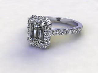 Certificated Emerald-Cut Diamond in Palladium-04-6600-8922