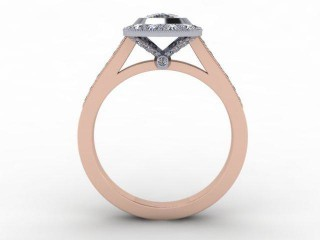 Certificated Cushion-Cut Diamond in 18ct. Rose Gold - 3