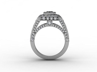 Certificated Cushion-Cut Diamond in 18ct. White Gold - 3