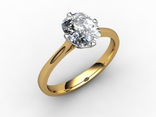 Certificated Cushion-Cut Diamond Solitaire Engagement Ring in 18ct. Gold - 12