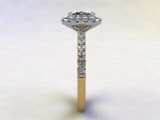 Certificated Cushion-Cut Diamond in 18ct. Gold - 6