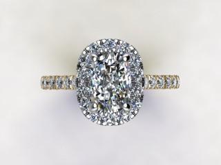 Certificated Cushion-Cut Diamond in 18ct. Gold - 9