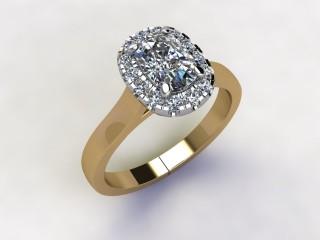 Certificated Cushion-Cut Diamond in 18ct. Gold - 12