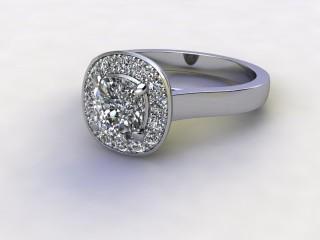 Certificated Cushion-Cut Diamond in Palladium-05-6600-8913